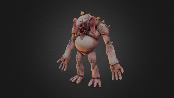 Dankhold Troggoth 3D Model