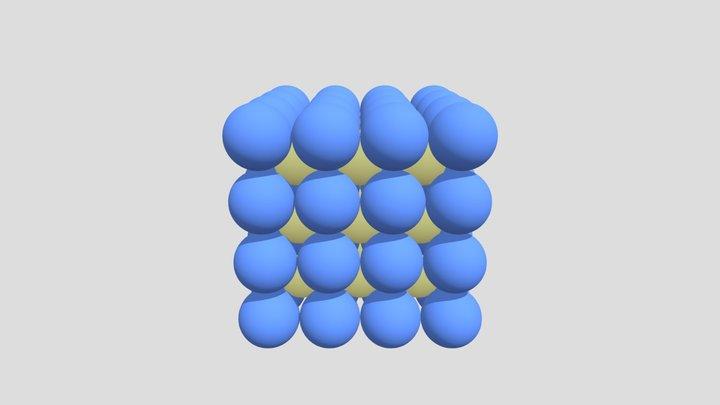 Простая кубическая кладка 3D Model