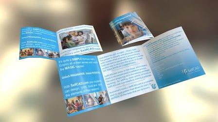 Self CAD ED Brochure 3D Model