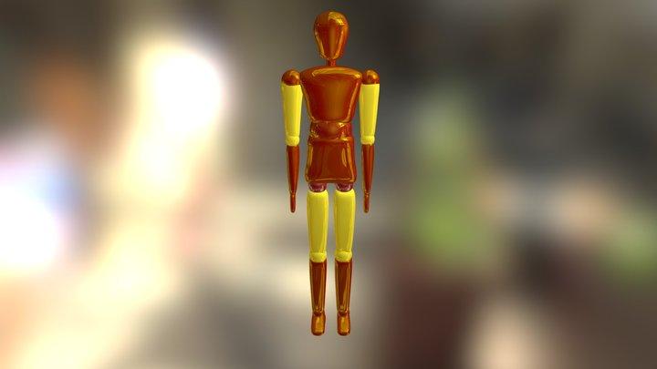Scotty Couleur 2 3D Model