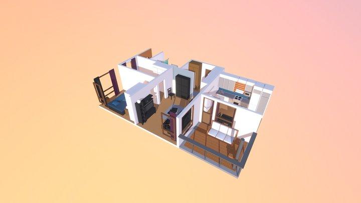 My Crib 3D Model