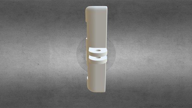 Serfas Trident USB Led to GoPro Mount 3D Model