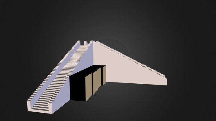 ziggurat of ur 3D Model