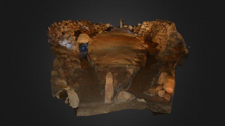 Lugnarohögen graven 3D Model