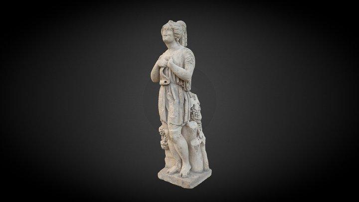 """Laetitia, statue """"à l'antique"""" 3D Model"""