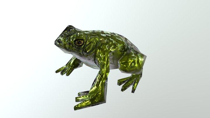 sapo - frog 3D Model