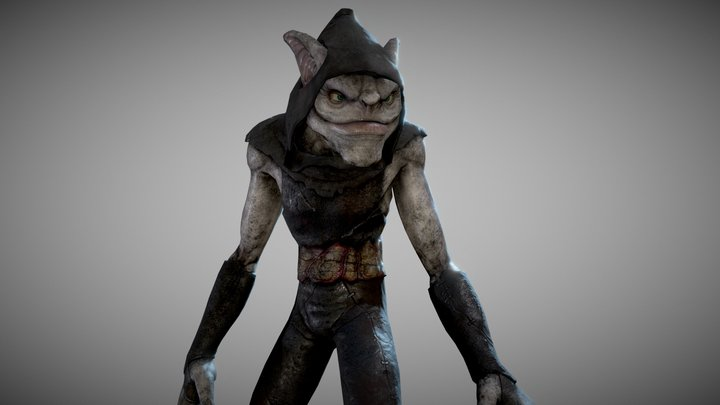 Orc Rogue 3D Model