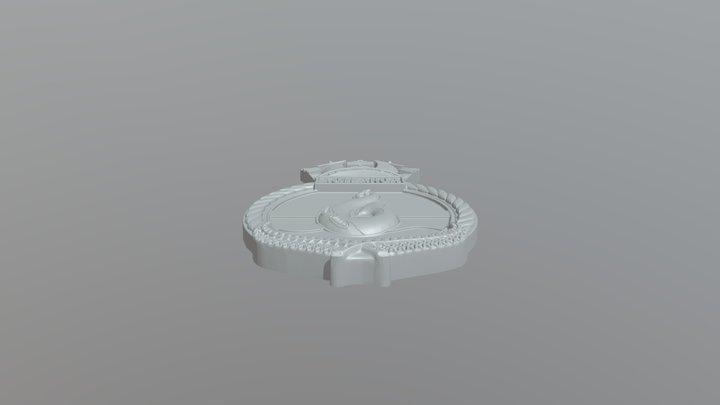 Aotearoa Crest 3D Model