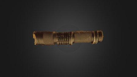 Photogrammetry flashlight 3D Model