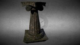 Colonna low poly 3D Model