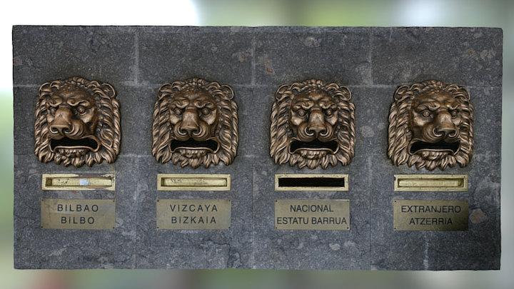Postal Lions 3D Model