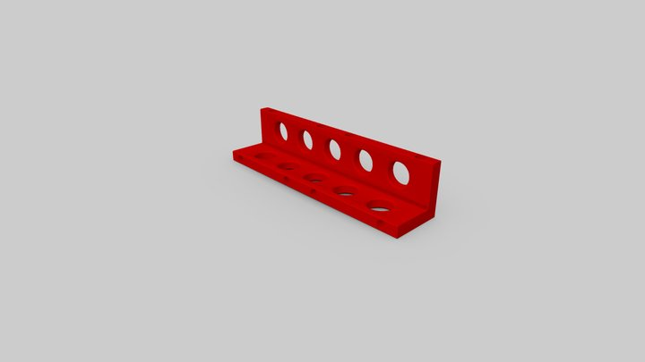 Corner part (m-corner1) 3D Model