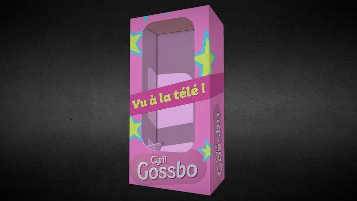 Présentoir poupée Cyril Gossbo (Slaïme 2020) 3D Model