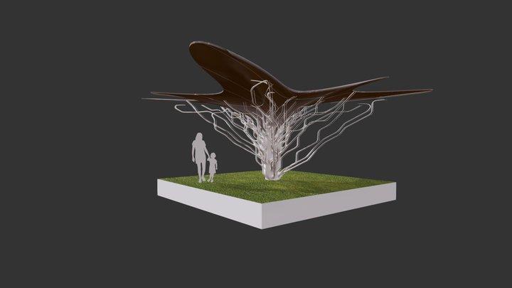 Hilltop Canopy 3D Model
