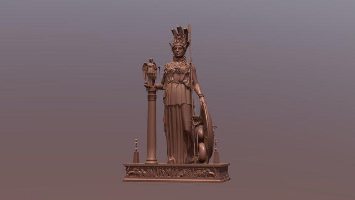 Athena Parthenos 3D Model