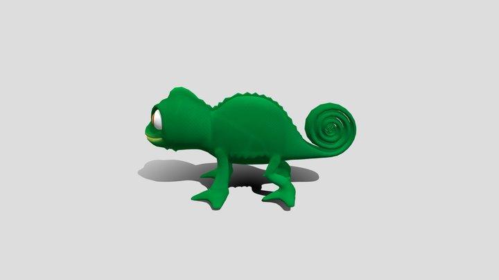 Pascal -Tangled (Disney) 3D Model