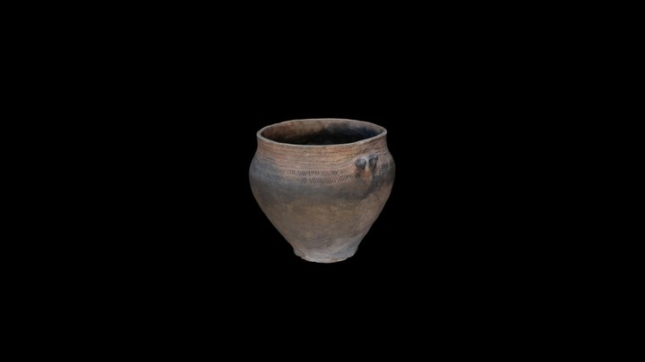 Stone Age pottery from Nida 3D Model