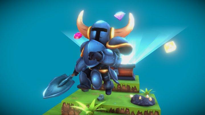 Shovel Knight Fanart 3D Model