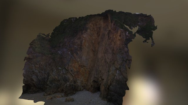 Erosion du littoral français 3D Model