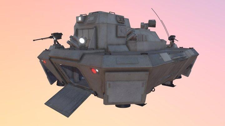 MCRN Dropship (The Expanse) 3D Model