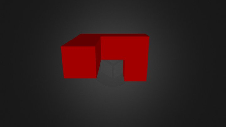 red piece 3D Model