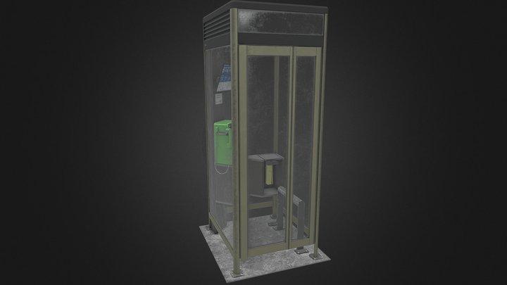 Japanese Phone Box 3D Model