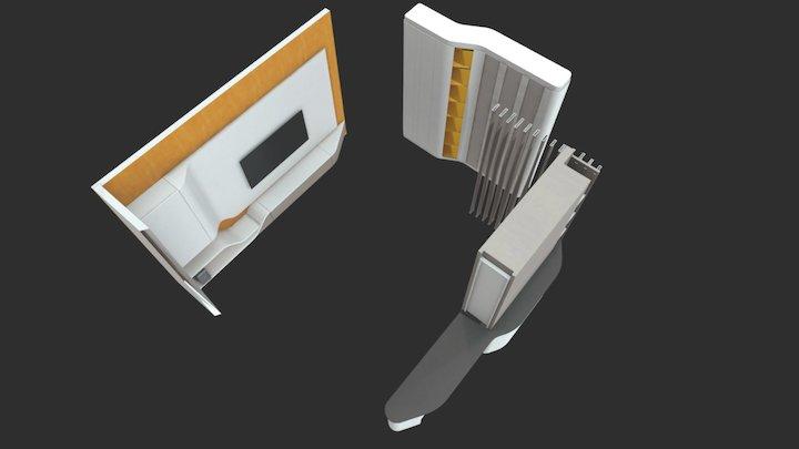 Lightness of a feather 3D Model