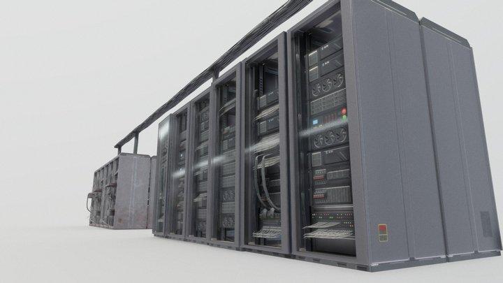 Server pack 3D Model
