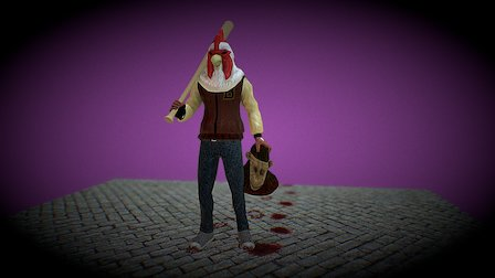 Happy New Rooster! 3D Model