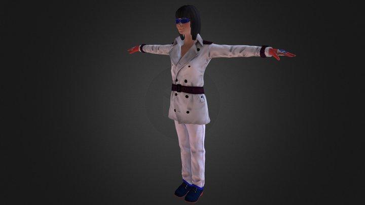 Civilian Lady Friend 3D Model