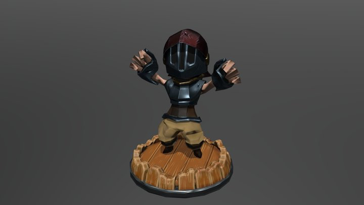 Victory knight 3D Model