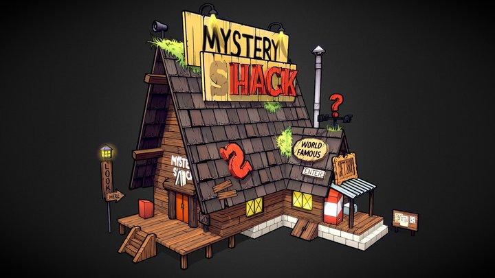 The Mystery Shack 3D Model