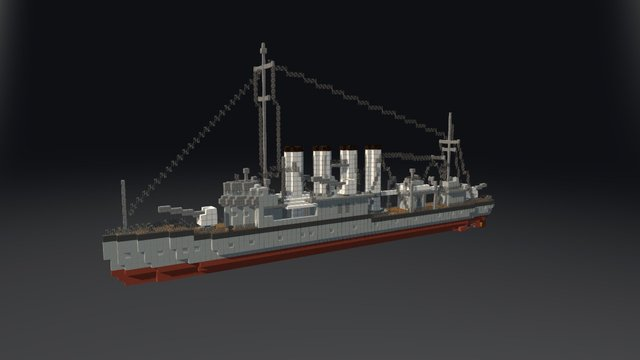USS Caldwell 3D Model