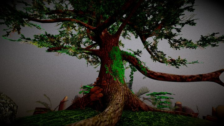 the last preserved tree 3D Model