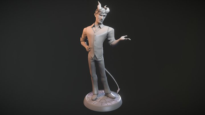 Malachy - Print Version 3D Model