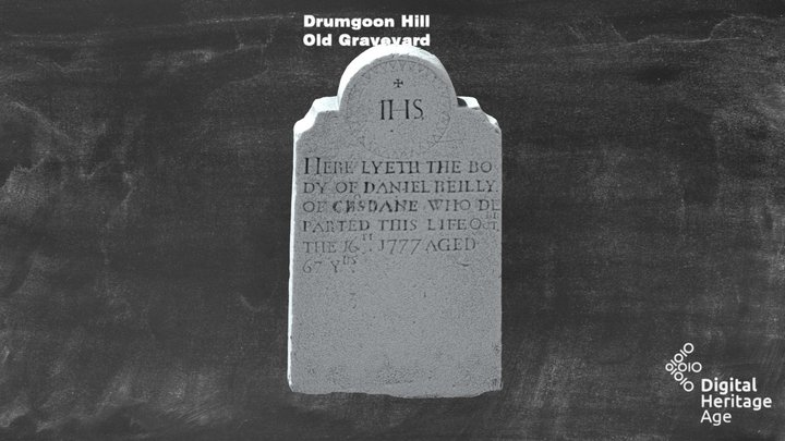 Drumgoon Hill - Old Graveyard - Headstone 248 3D Model
