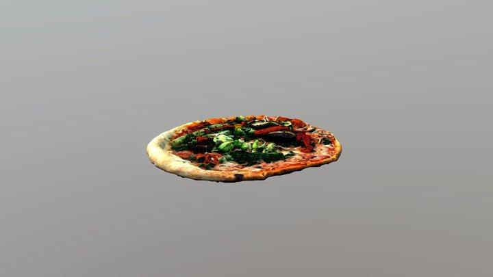 Pizza alle verdure 3D Model