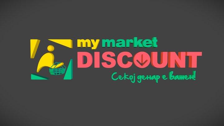 my market DISCOUNT 3D Model