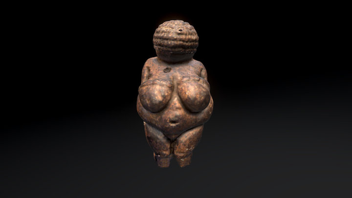 Venus of Willendorf 3D Model