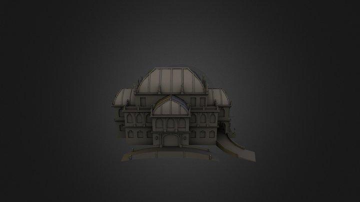 Theater 3D Model