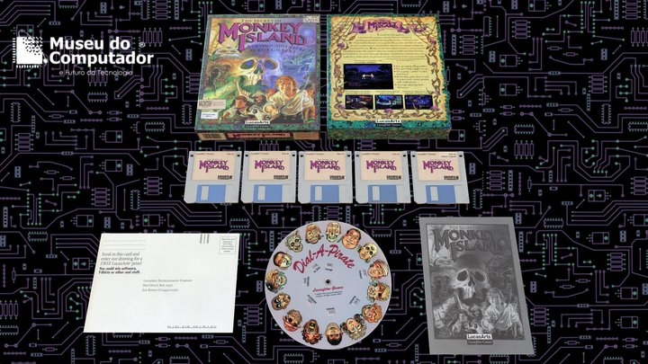The Secret of Monkey Island I - 1990 - LucasArts 3D Model