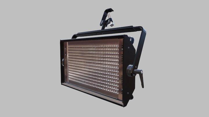 Studio LED 450 Tungsten 3D Model