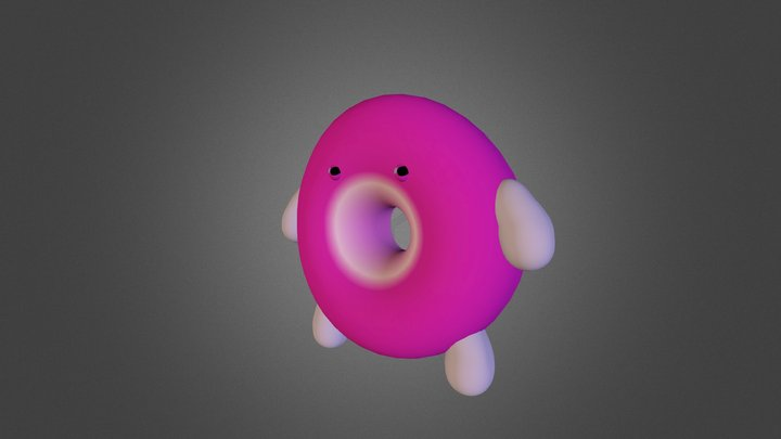 3d character simple 3D Model