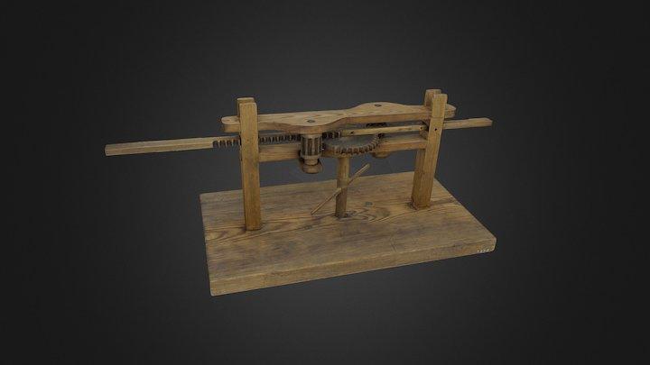 Mechanical alphabet, TM1259 3D Model