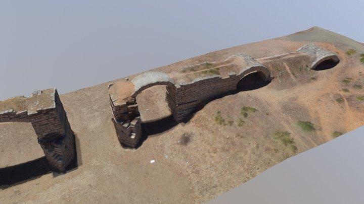Puente romano Alconétar 3D Model