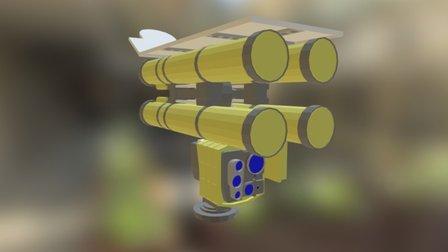 Kornet - D / EM 3D Model
