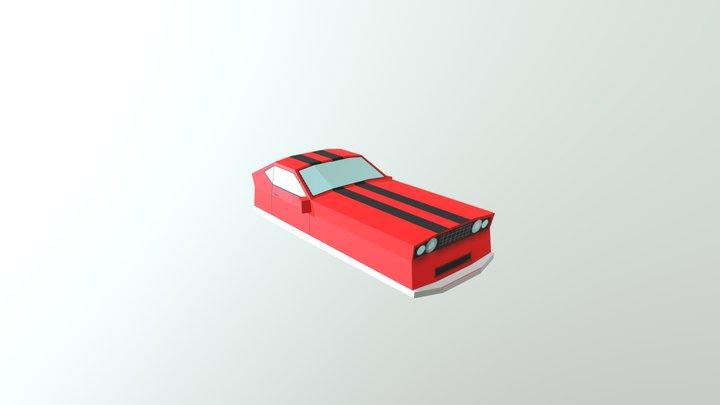Carro Pequeno(futuro) 3D Model