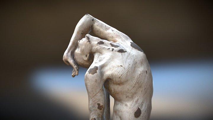 Juan Bordes - Lacquered bronze 3D Model