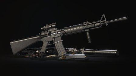 M16A4 3D Model