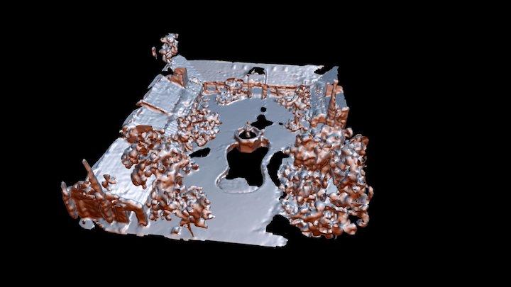 Pool area Ventura Site Mesh 3D Model